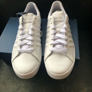 NWT WHITE LOW K-SWISS SNEAKERS TENNIS SHOES SZ 9